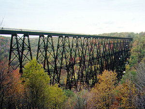 Kinzua Bridge before the tornado