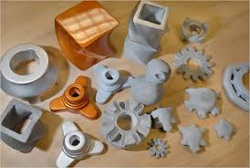 Objects and components made using 3D printing