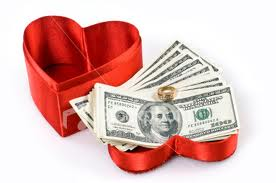 Valentine's Day is hearts and dollars