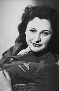 Nancy Wake, master spy, during World War II