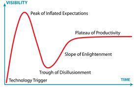 Hype Cycle Chart (Gartner, Inc.)