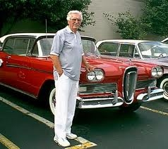 Roy Brown, designer of the Ford Edsel