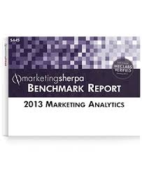 2013 Marketing Analytics Benchmark Report from MarketingSherpa