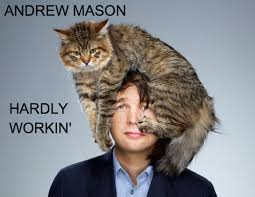 Andrew Mason - Hardly Workin' music album