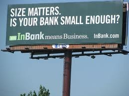 Smaller banking institutions