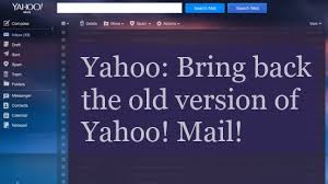 Yahoo's e-mail interface fail