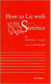 How to Lie with Statistics by Darrell Huff (1954)