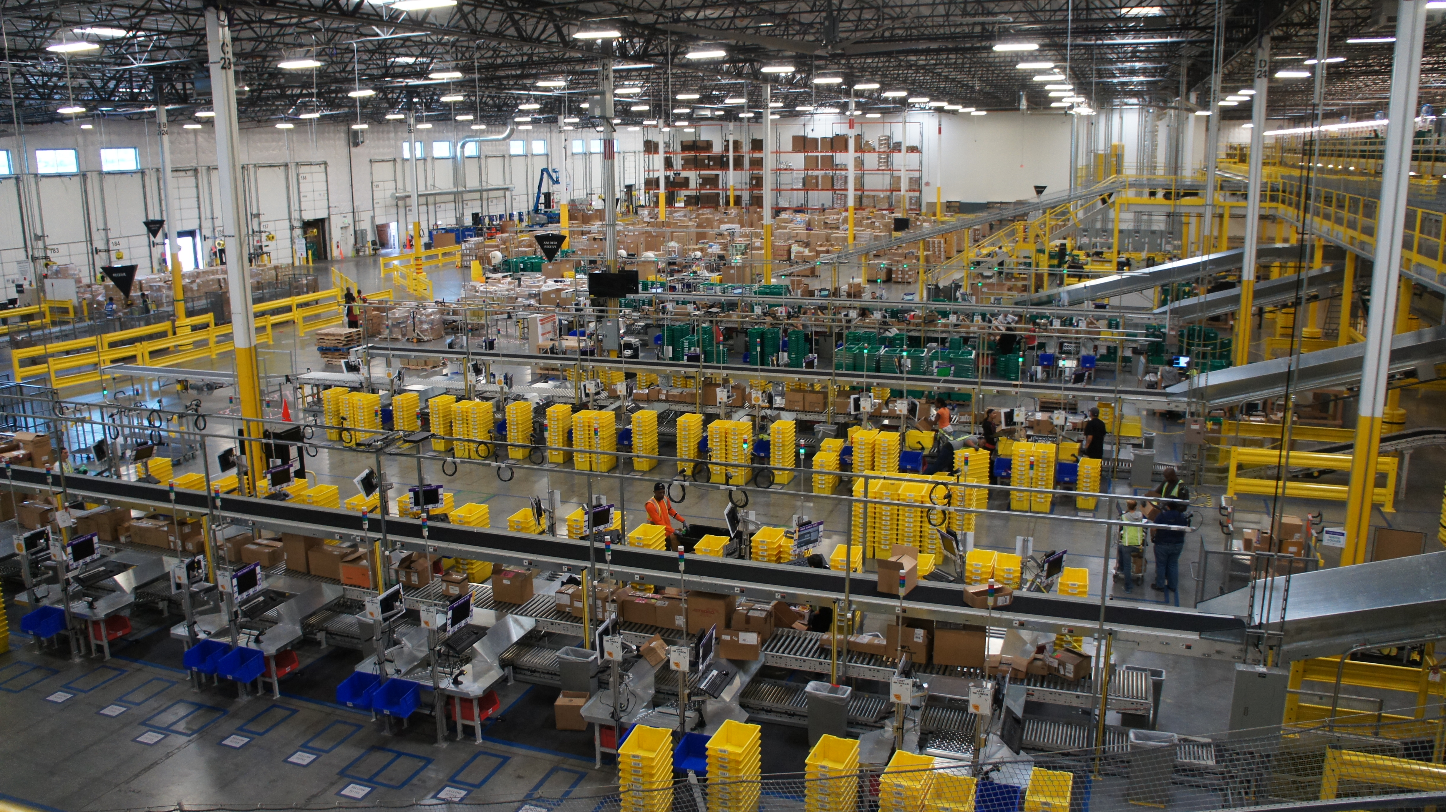 Are U S Warehouse Jobs Destined To Go The Way Of