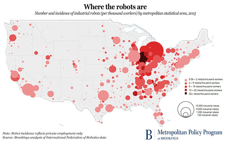 Where Robots Are Getting Ready to Run the Show | Nones Notes on swing states map, medical states map, democratic states map, coastal states map, other states map, label states map, powerball states map,