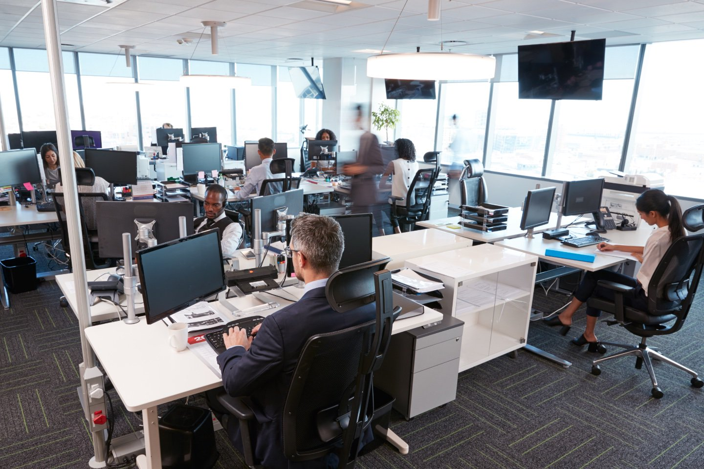 The closed world of open office environments  | Nones Notes